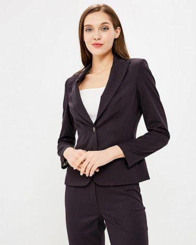 Коричневый пиджак осенний La Biali