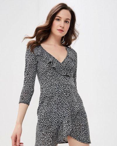 Платье серое Modis