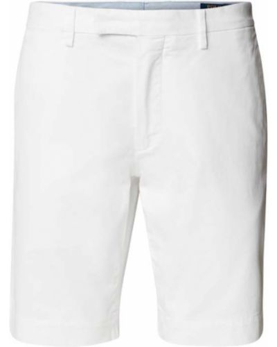 Białe bermudy bawełniane Polo Ralph Lauren