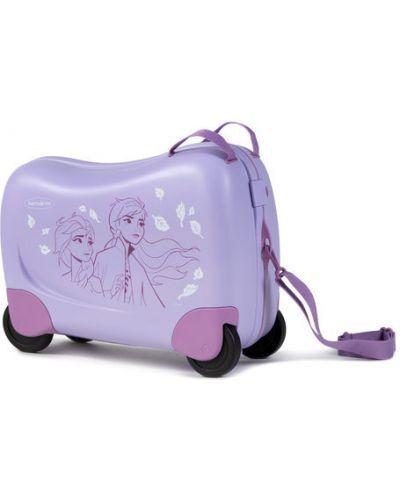 Fioletowa walizka Samsonite