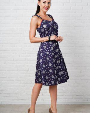 Летнее платье с цветочным принтом платье-сарафан Taiga