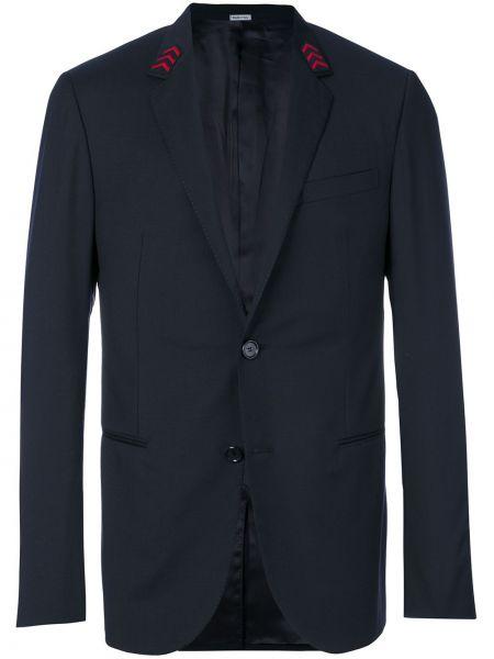 Пиджак с карманами шерстяной Lanvin