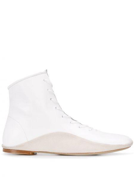Ажурные сапоги на шпильке на шнуровке Paul Smith