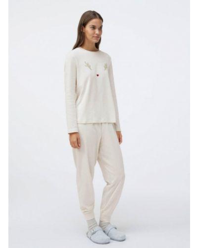 Пижама - бежевая Oysho