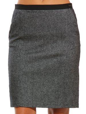 Юбка из полиэстера - серая Cerruti 18crr81