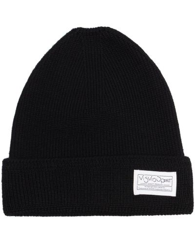 Czarna czapka z daszkiem Visvim