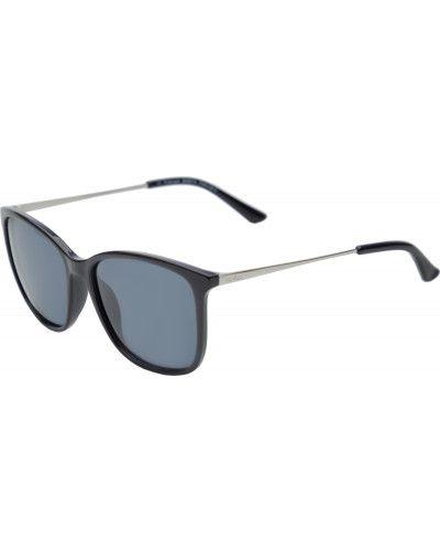 Солнцезащитные очки черные с градиентом Invu