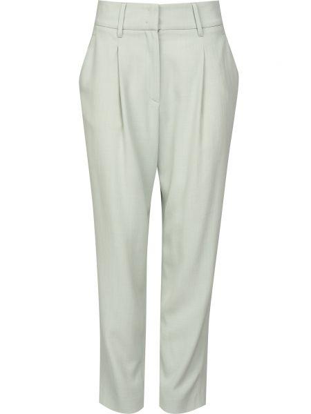 Шерстяные брюки на молнии Fabiana Filippi