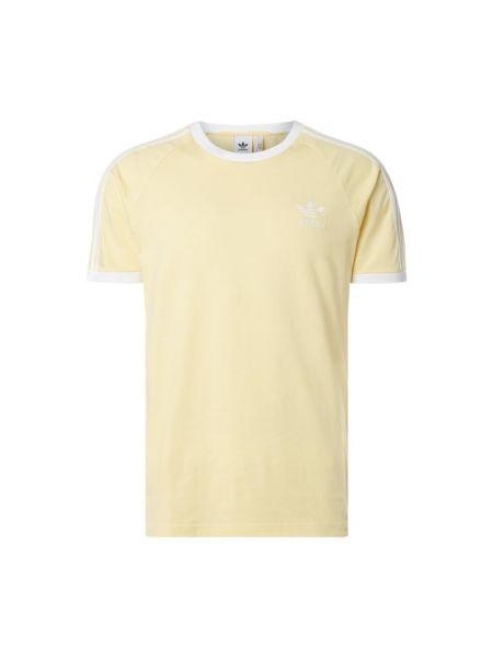Koszula krótkie z krótkim rękawem z logo z mankietami Adidas Originals