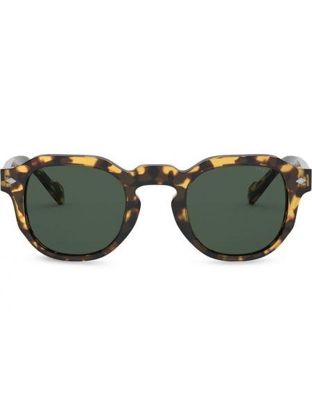 Okulary z printem - żółte Vogue Eyewear