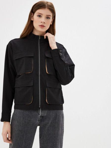 Черная облегченная куртка On Parle De Vous