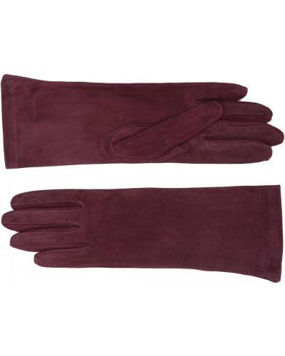 Красные кожаные перчатки Merola Gloves