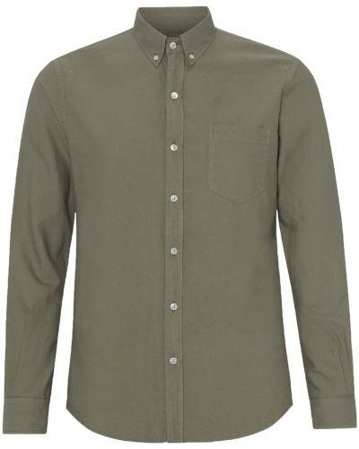 Zielona koszula Colorful Standard