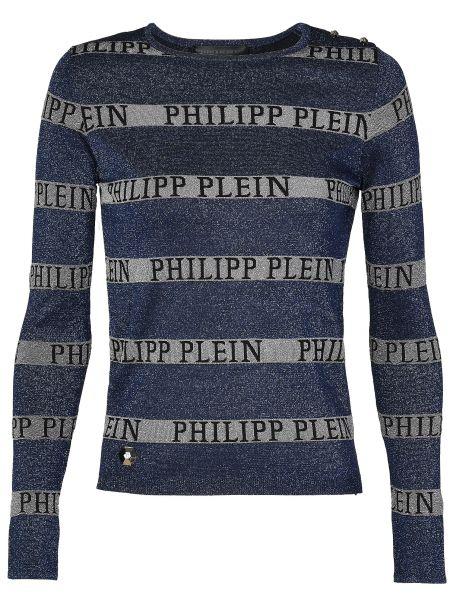 Синий джемпер Philipp Plein