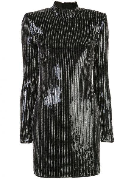 Прямое приталенное платье мини с открытой спиной с бисером Haney