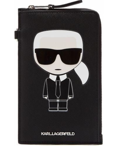 Сумка черная Karl Lagerfeld
