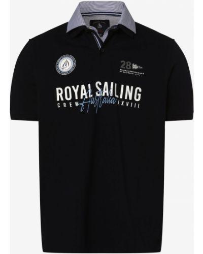 Niebieska t-shirt Andrew James Sailing