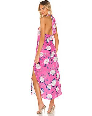 Платье макси на молнии шелковое Yumi Kim