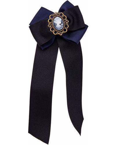 Синяя брошь винтажная Rubynovich