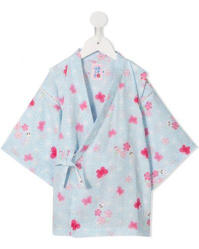 Пижама синяя Miki House
