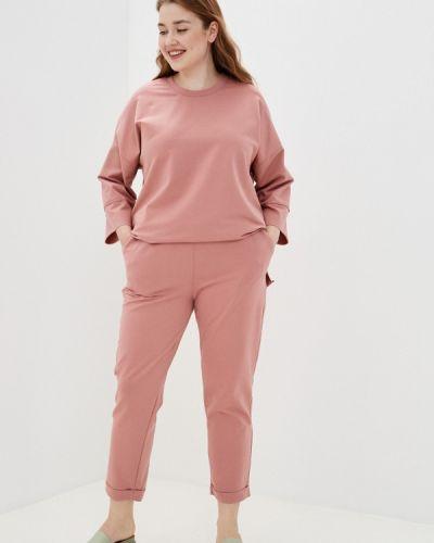 Спортивный розовый спортивный костюм Chic De Femme