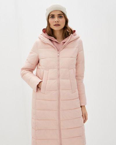 Теплая розовая зимняя куртка Incity
