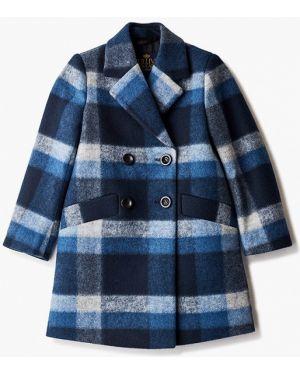 Пальто синее Gulliver