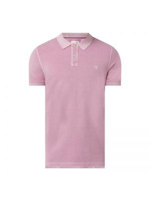 T-shirt bawełniana - fioletowa Marc O'polo