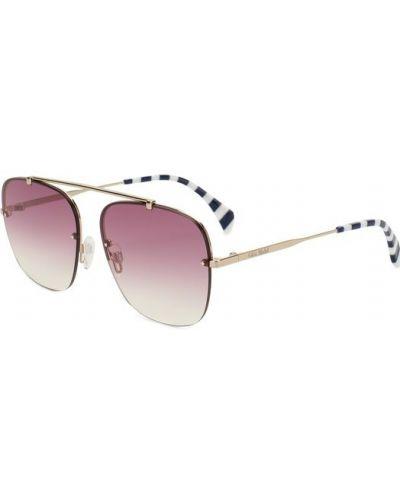 Фиолетовые солнцезащитные очки Tommy Hilfiger
