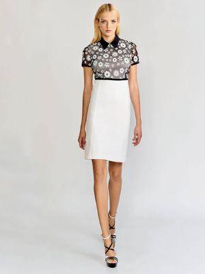 Платье из вискозы - белое Anna Rachele