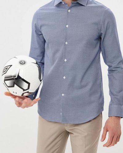 Синяя рубашка Celio