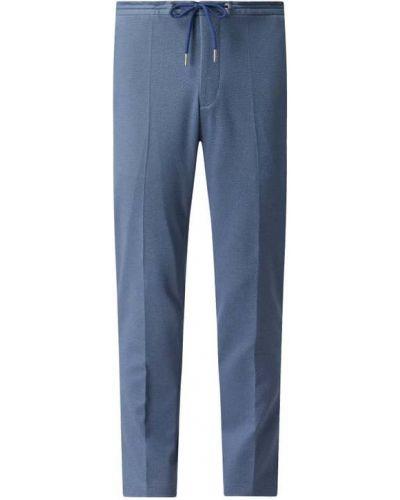 Niebieskie spodnie sportowe Mcneal