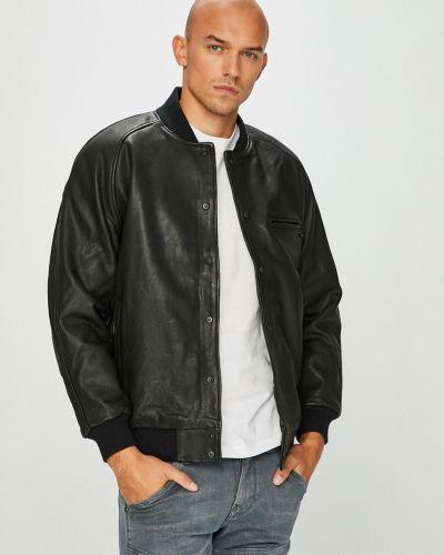Кожаная куртка утепленная на резинке Levi's®