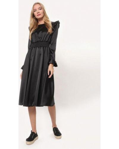 Платье осеннее черное Tutto Bene