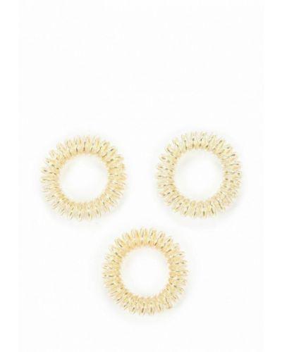 Резинка для волос набор золотого цвета Invisibobble