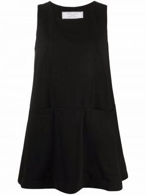 Платье мини с вырезом - черное SociÉtÉ Anonyme