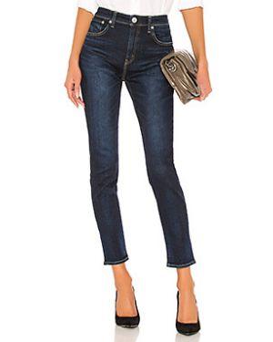 Пляжные джинсы с высокой посадкой на пуговицах с пайетками скинни Red Card