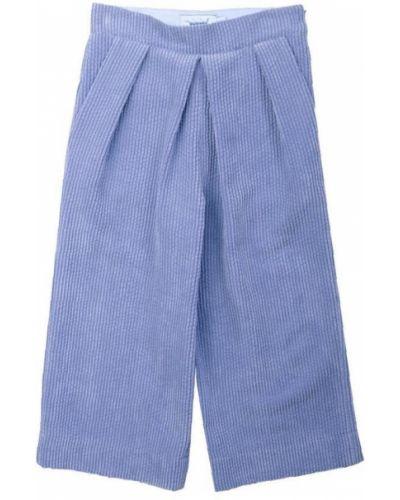 Prążkowane spodnie materiałowe Mimisol