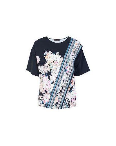 Свободная футболка прямая Roberto Cavalli