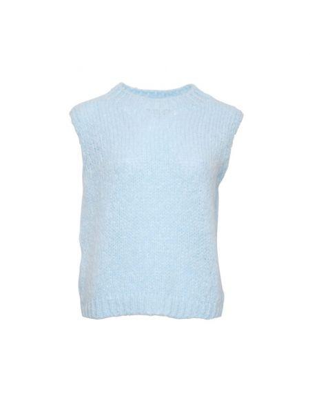 Niebieska kamizelka bez rękawów Noella