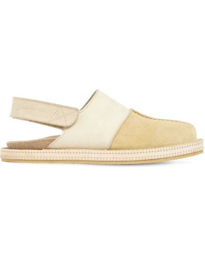 Loafers zamszowe - żółte Jacquemus