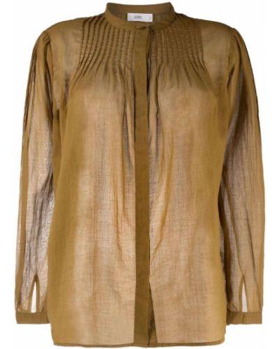 Коричневая блузка с длинными рукавами Closed