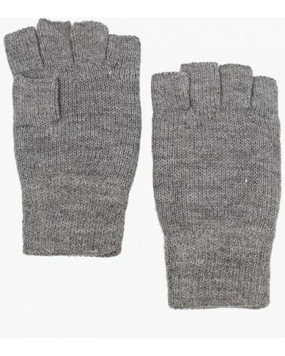 Текстильные серые перчатки Only & Sons