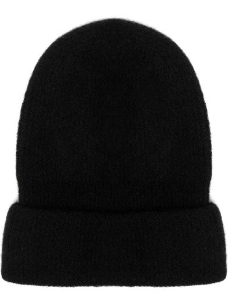 Czarny czapka beanie Isabel Benenato
