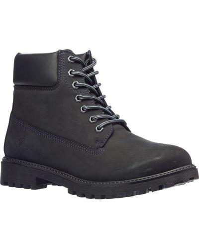 Серые ботинки Lumberjack