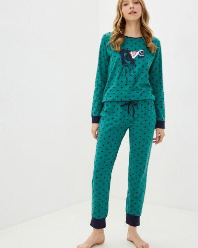 Пижамная зеленая пижама Hays