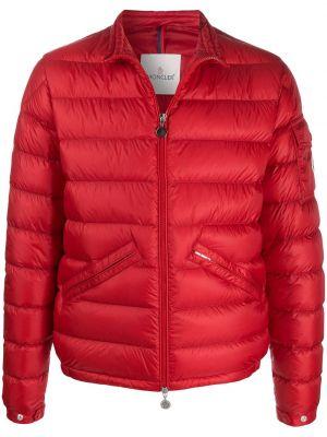 Pikowana kurtka z logo kurtka Moncler