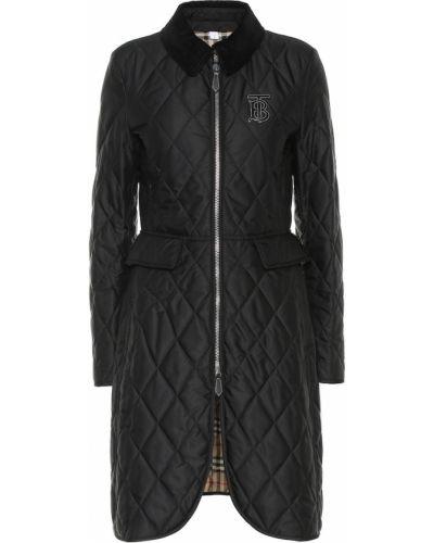 Длинное пальто стеганое Burberry
