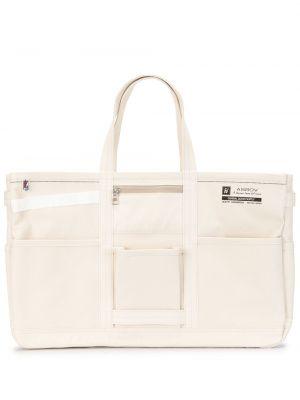 Парусиновая сумка-тоут на молнии с карманами As2ov