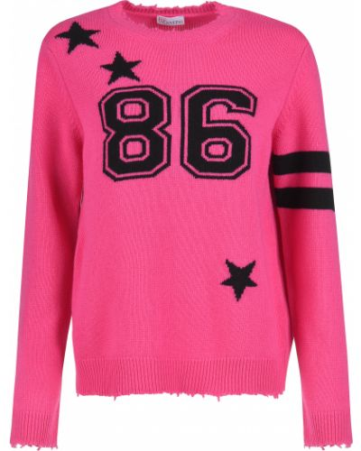 Розовый свитер Red Valentino